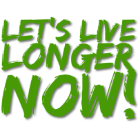 Let's Live Longer Now Logo